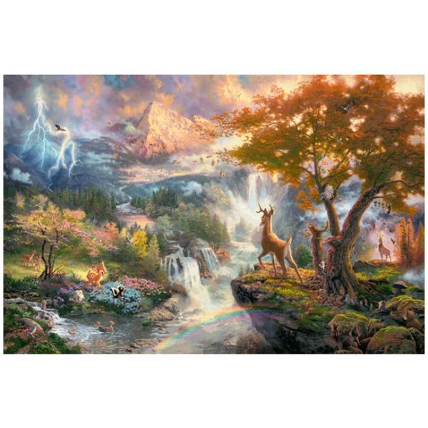 Sestavljanka puzzle 1000 delna Schmidt Kinkade Disney Bambi
