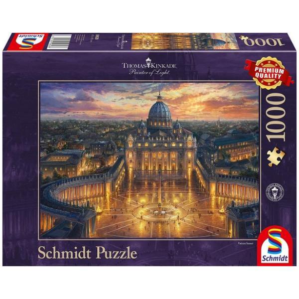 Sestavljanka puzzle 1000 delna Schmidt Kinkade Vatikan 1