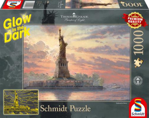Sestavljanka puzzle 1000 delna Schmidt Kip Svobode