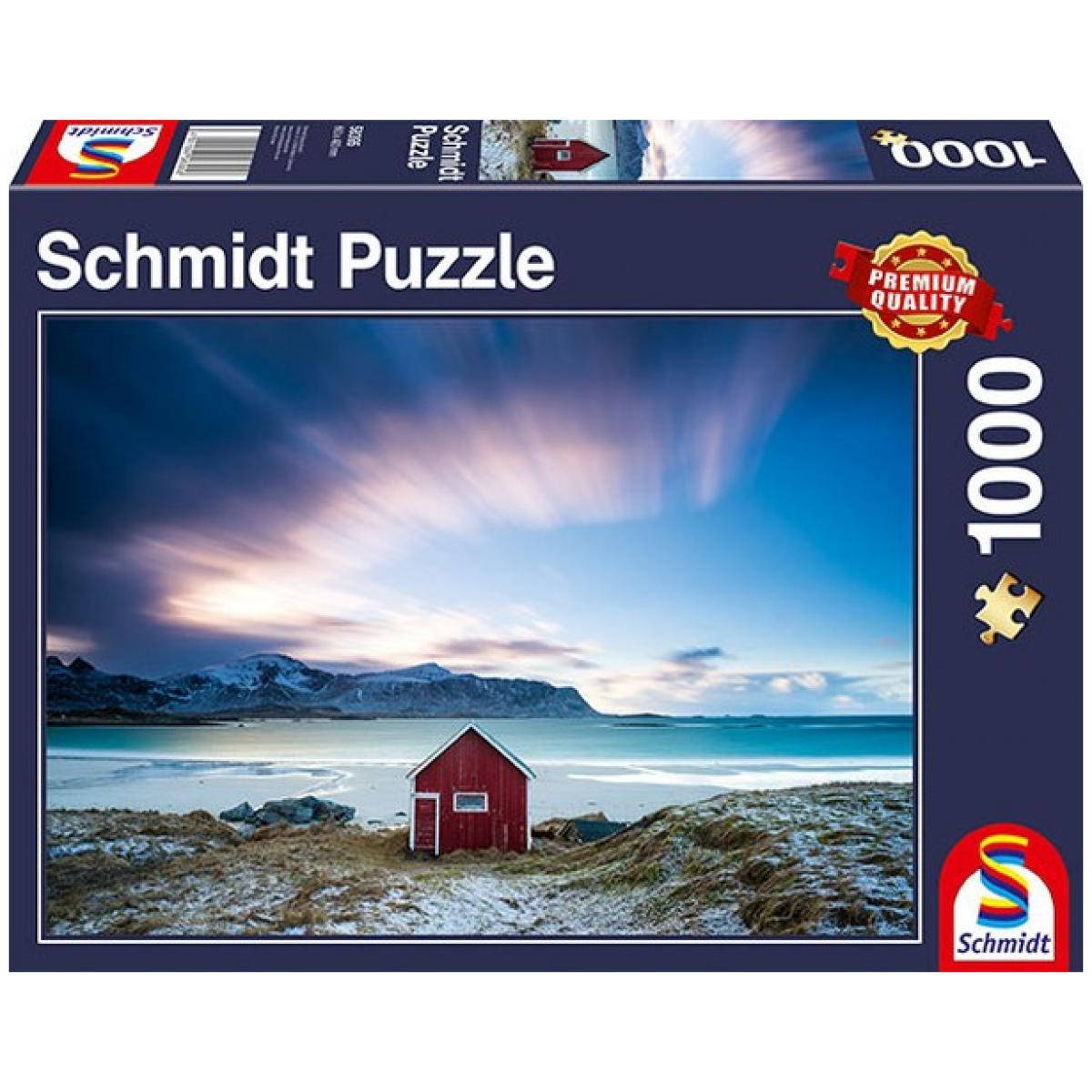 Sestavljanka puzzle 1000 delna Schmidt Koča Atlantik
