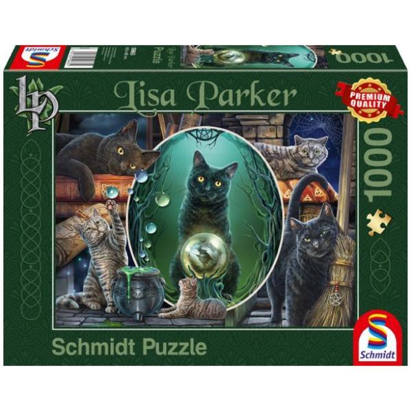 Sestavljanka puzzle 1000 delna Schmidt Magične Muce