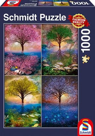 Sestavljanka puzzle 1000 delna Schmidt Magicno drevo