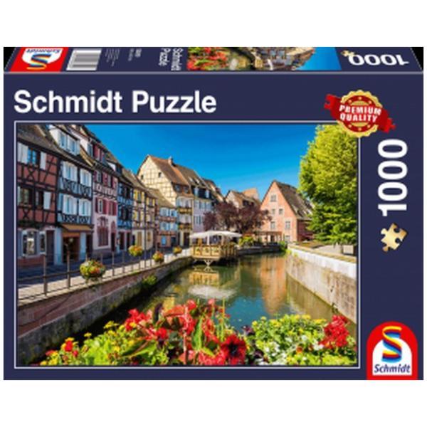Sestavljanka puzzle 1000 delna Schmidt Mala vasica