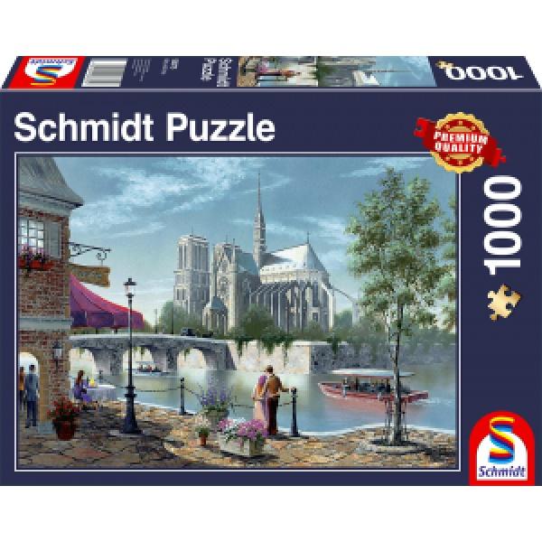 Sestavljanka puzzle 1000 delna Schmidt Notre Dame