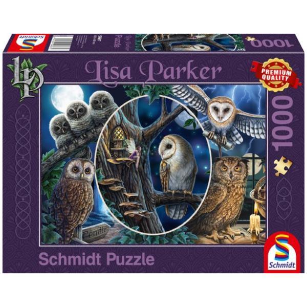 Sestavljanka puzzle 1000 delna Schmidt Parker Sova