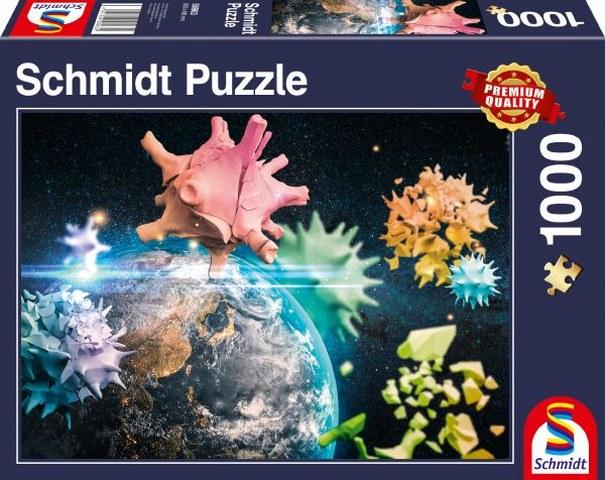 Sestavljanka puzzle 1000 delna Schmidt Planet Zemlja