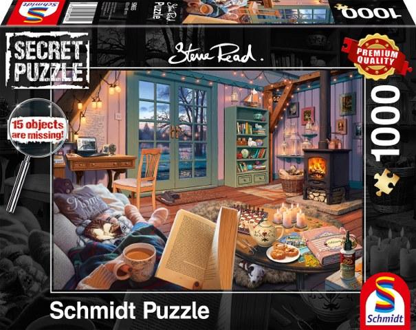 Sestavljanka puzzle 1000 delna Schmidt Počitniški dom