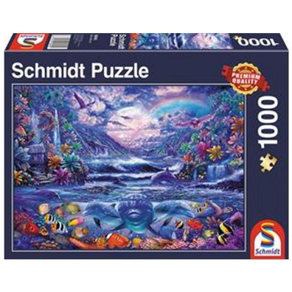 Sestavljanka puzzle 1000 delna Schmidt Polnočna oaza