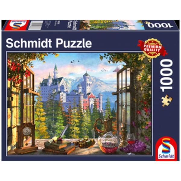 Sestavljanka puzzle 1000 delna Schmidt Pravljični grad
