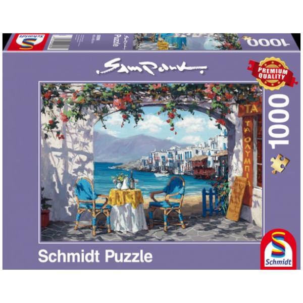 Sestavljanka puzzle 1000 delna Schmidt Sam Park Mikonos
