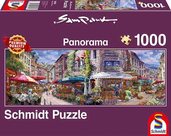 Sestavljanka puzzle 1000 delna Schmidt Sam Park Pomlad