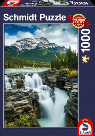 Sestavljanka puzzle 1000 delna Schmidt Slapovi Athabasca