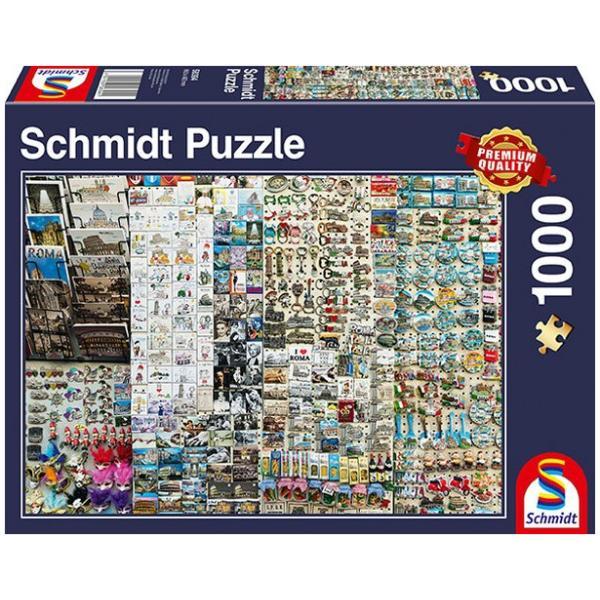 Sestavljanka puzzle 1000 delna Schmidt Spominki