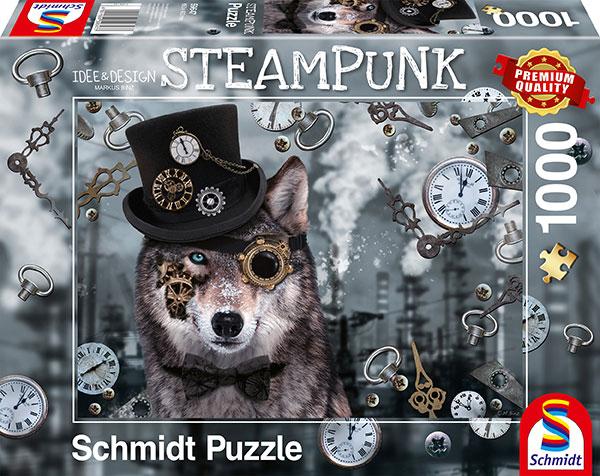 Sestavljanka puzzle 1000 delna Schmidt Steampunk volk