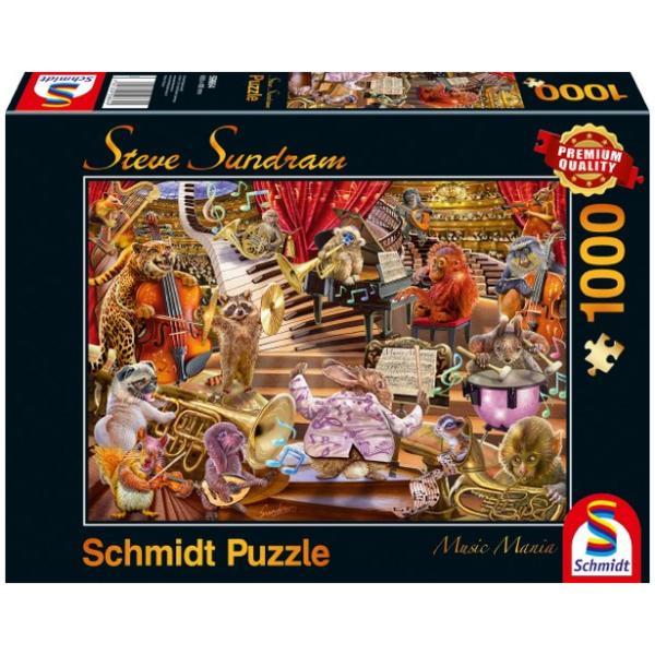 Sestavljanka puzzle 1000 delna Schmidt Sundram Glasba