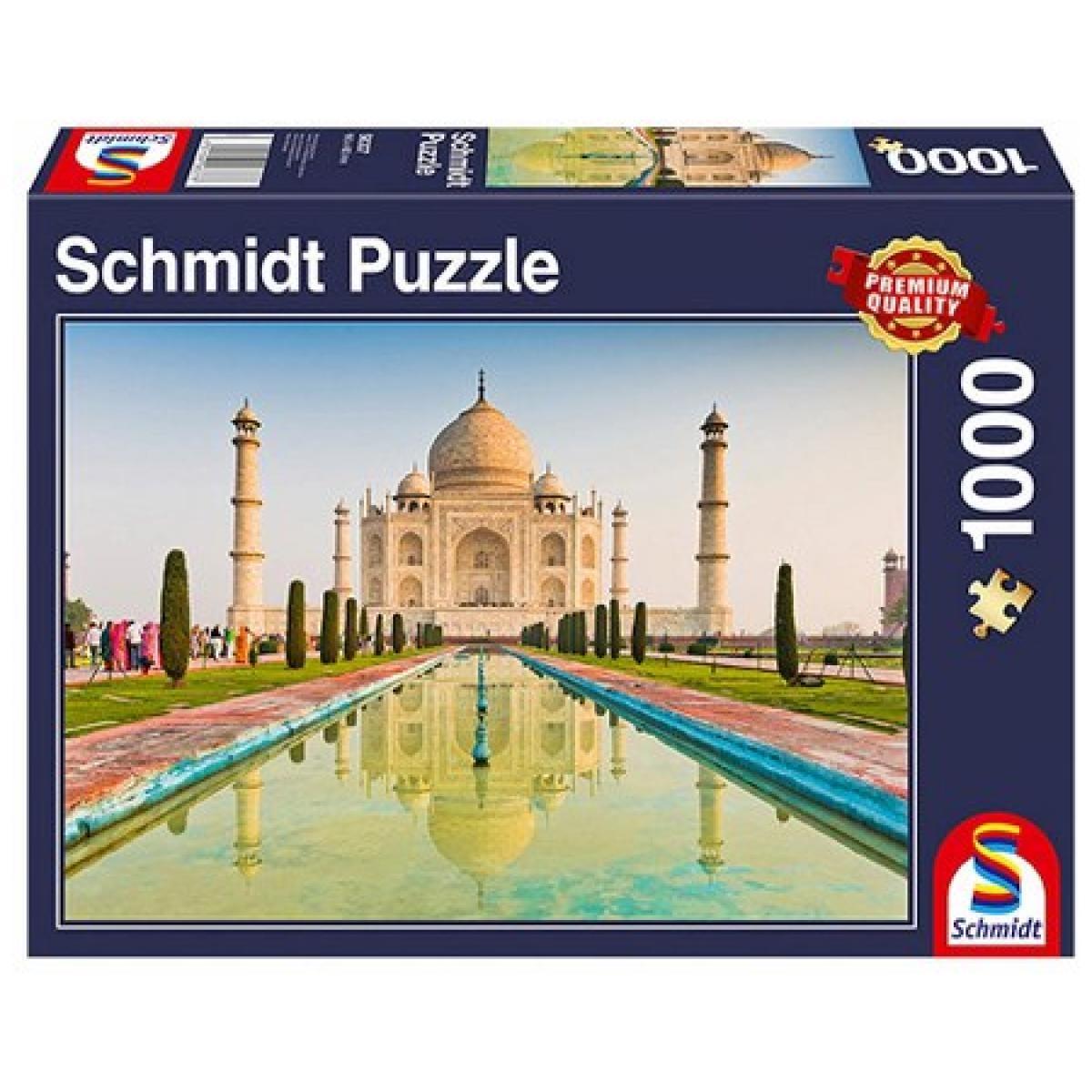 Sestavljanka puzzle 1000 delna Schmidt Taj Mahal