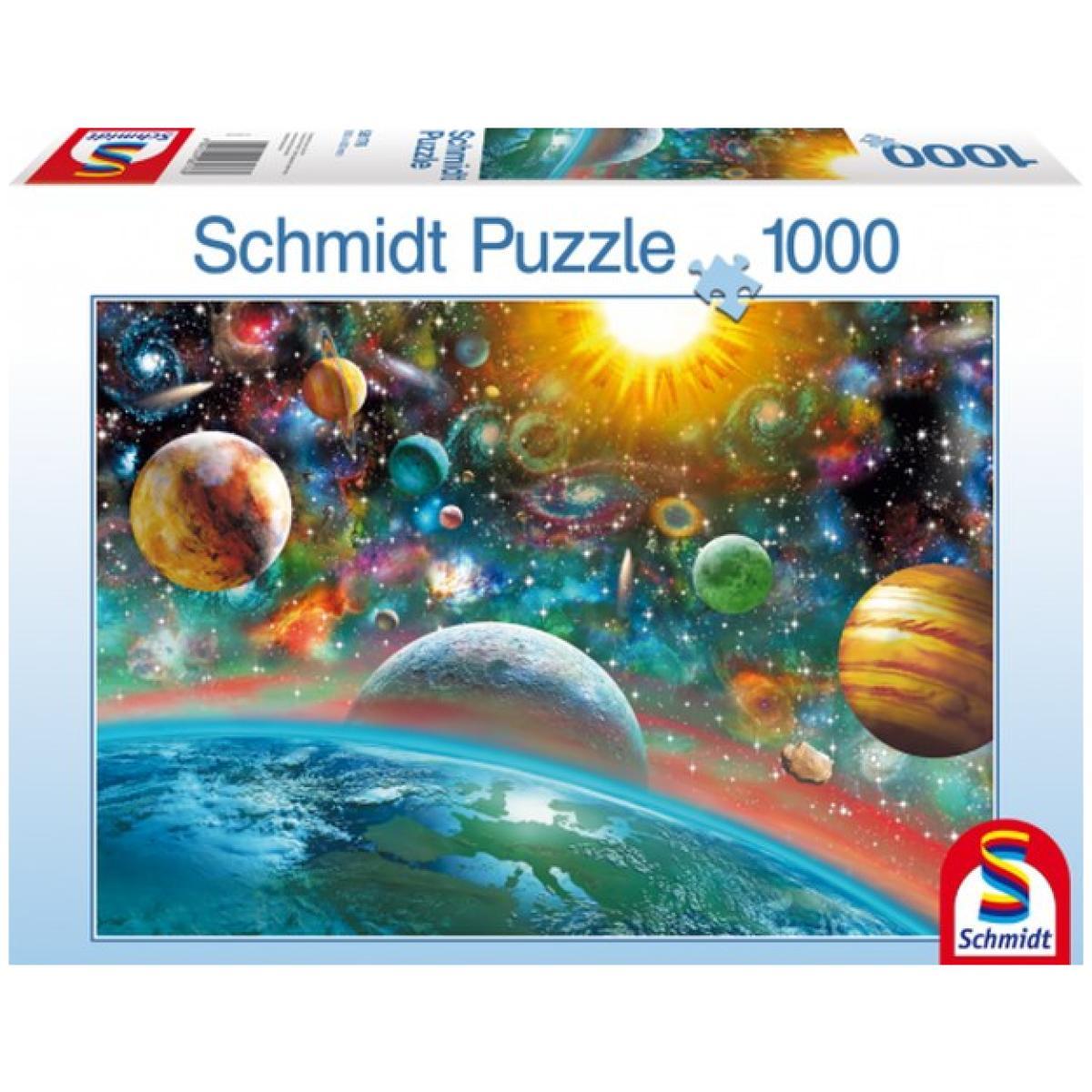 Sestavljanka puzzle 1000 delna Schmidt Vesolje