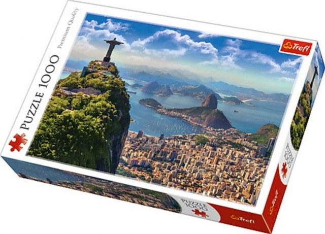 Sestavljanka puzzle 1000 delna Trefl Rio De Jeneiro 1 1