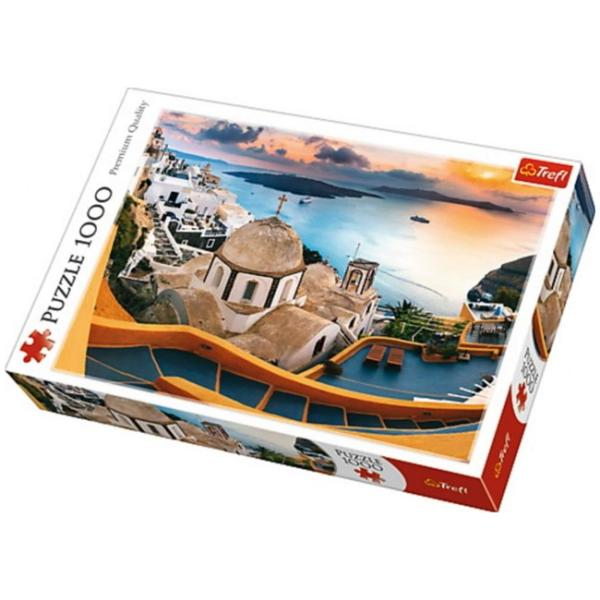 Sestavljanka puzzle 1000 delna Trefl Santorini