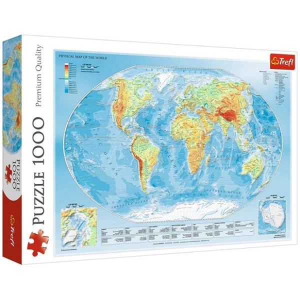 Sestavljanka puzzle 1000 delna Trefl Svet