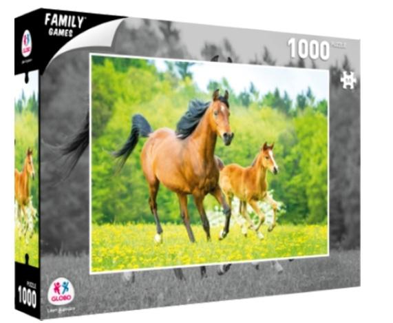 Sestavljanka puzzle 1000 kosov Globo Konj