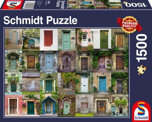 Sestavljanka puzzle 1500 delna Schmidt Vrata