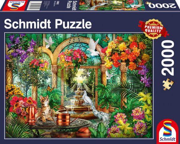 Sestavljanka puzzle 2000 delna Schmidt Atrij