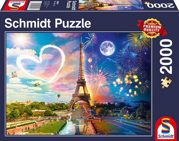 Sestavljanka puzzle 2000 delna Schmidt Paris