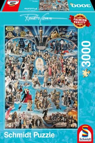 Sestavljanka puzzle 3000 delna Schmidt Casaro Hollywood XXL