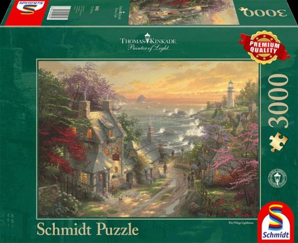 Sestavljanka puzzle 3000 delna Schmidt Kinkade Svetilnik