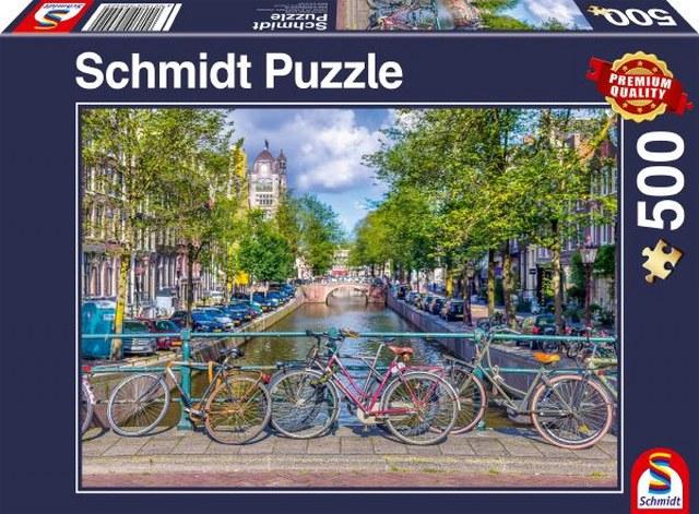 Sestavljanka puzzle 500 delna Schmidt Amsterdam