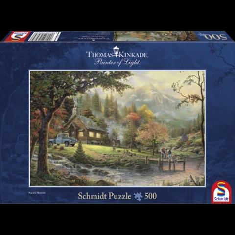 Sestavljanka puzzle 500 delna Schmidt Kinkade Trenutek