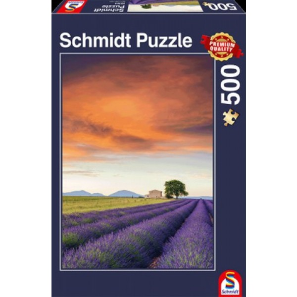 Sestavljanka puzzle 500 delna Schmidt Polje sivke