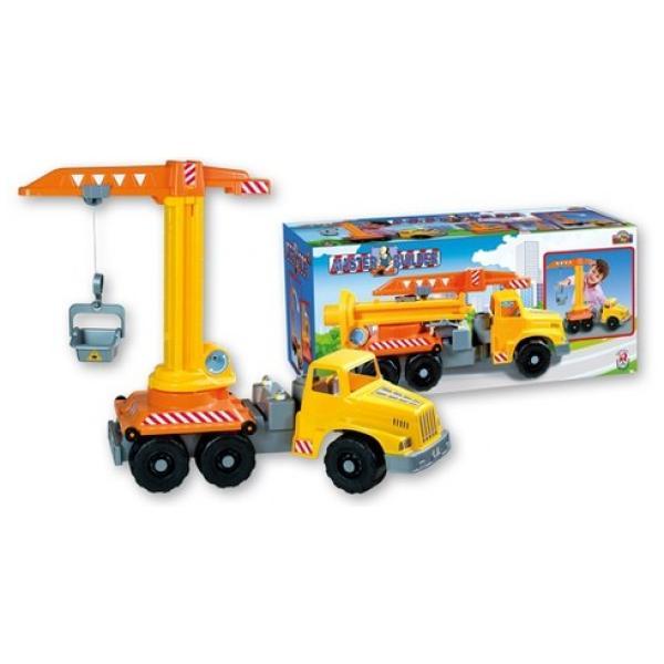 Tovornjak dolžine 71 cm z ročnim žerjavom