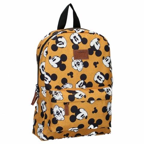 Vadobag Otroski nahrbtniki za otroke Mickey Mouse Rumen