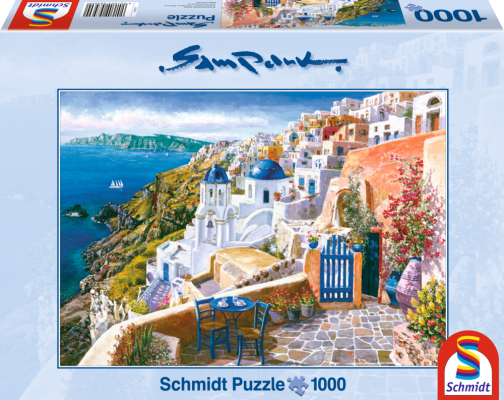 sestavljanka puzzle schmidt 2000 delna Sam