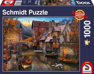 sestavljanka puzzle 1000 delna Schmidt Domovina pri kanalu