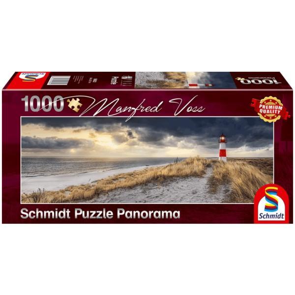 sestavljanka puzzle 1000 delna Schmidt Voss svetilnik