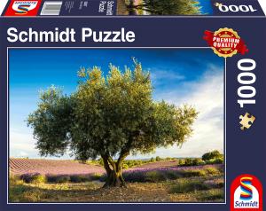 sestavljanka puzzle 1000 delna Schmidt oliva v provansi